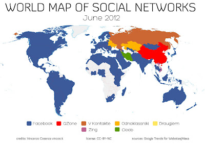 most popular social networking sites