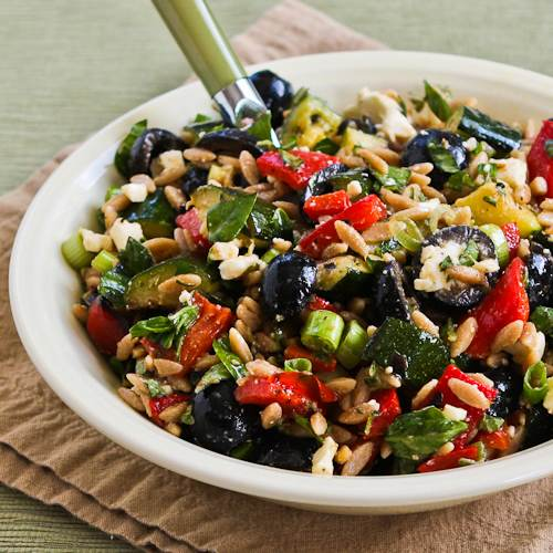 Warm Brown Rice And Grilled Vegetable Salad Recipes — Dishmaps