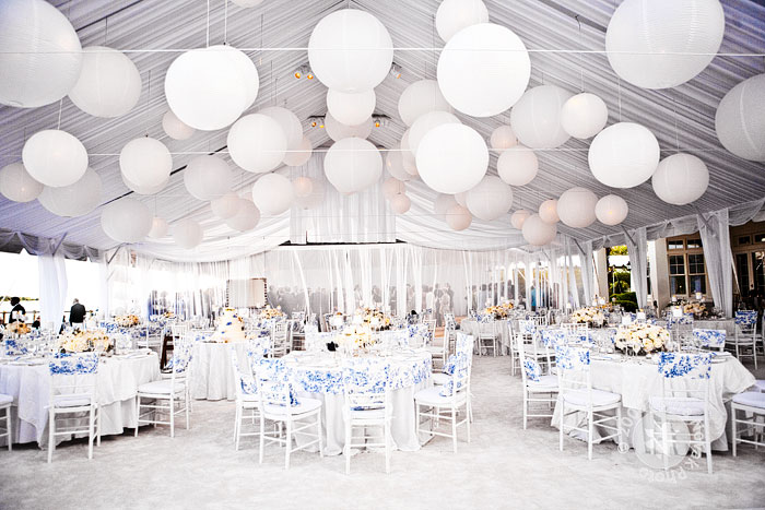 Paso paso que me caso decoraci n carpa for Images of all white party decorations