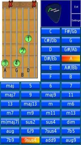 Chords Screenshot