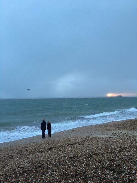 Southsea, Portsmouth, beach, UK coast