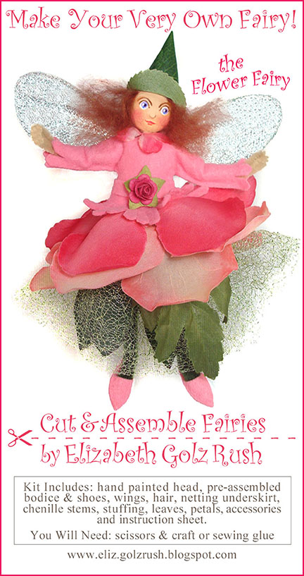 ROSE FLOWER FAIRY KIT