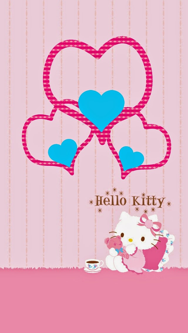 Free Hello kitty wallpapers for iPhone 5 or Note 3