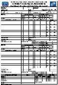 Planilla Oficial D.F.S