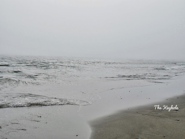 Foggy Beach Oregon coast