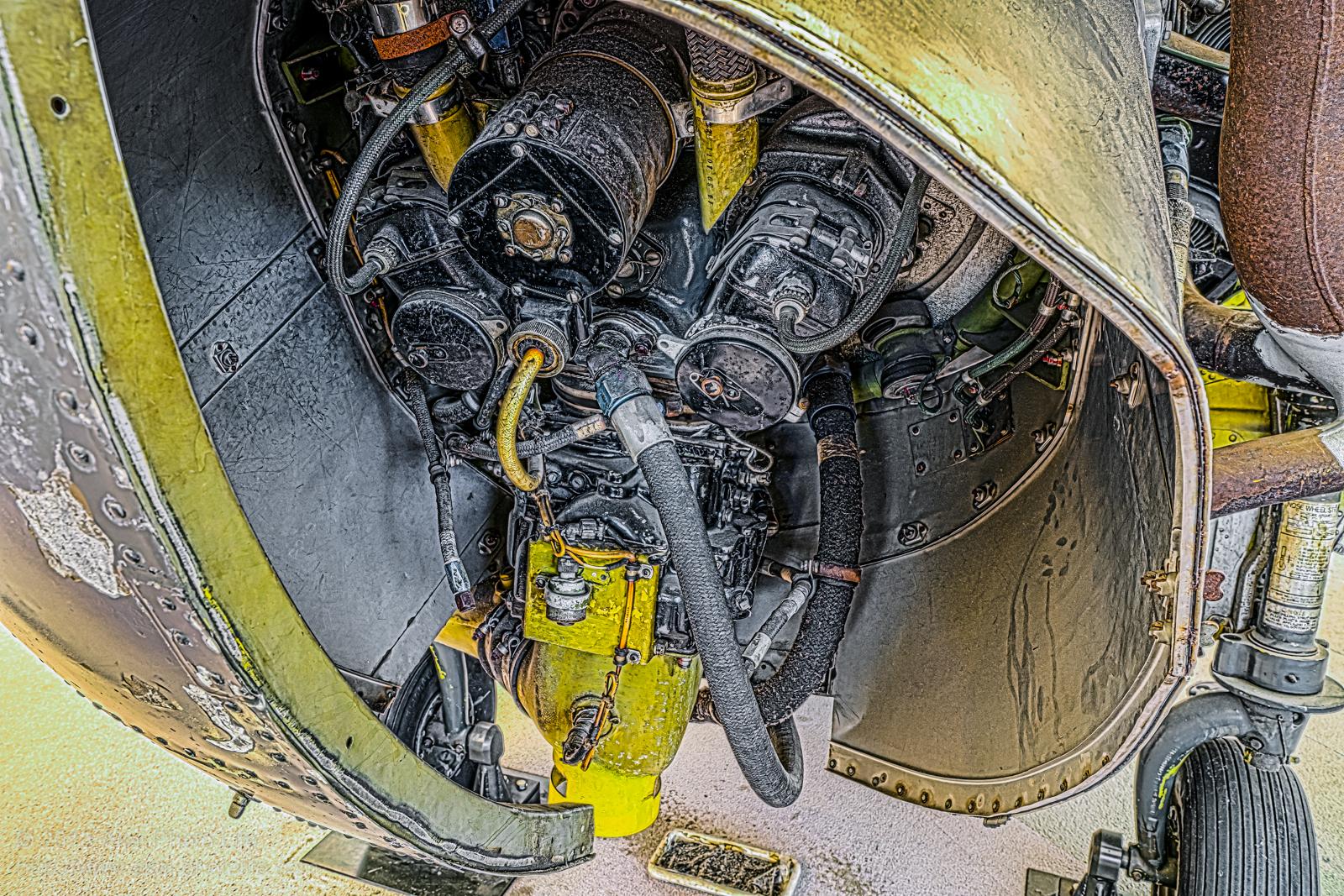 シコルスキー H-19、エンジンの写真