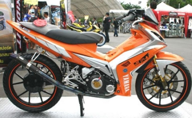 Foto Modifikasi Motor Bebek
