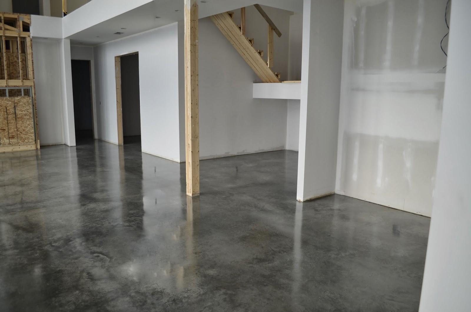 Modern Concrete Floors : Mode concrete environmentally conscious floors