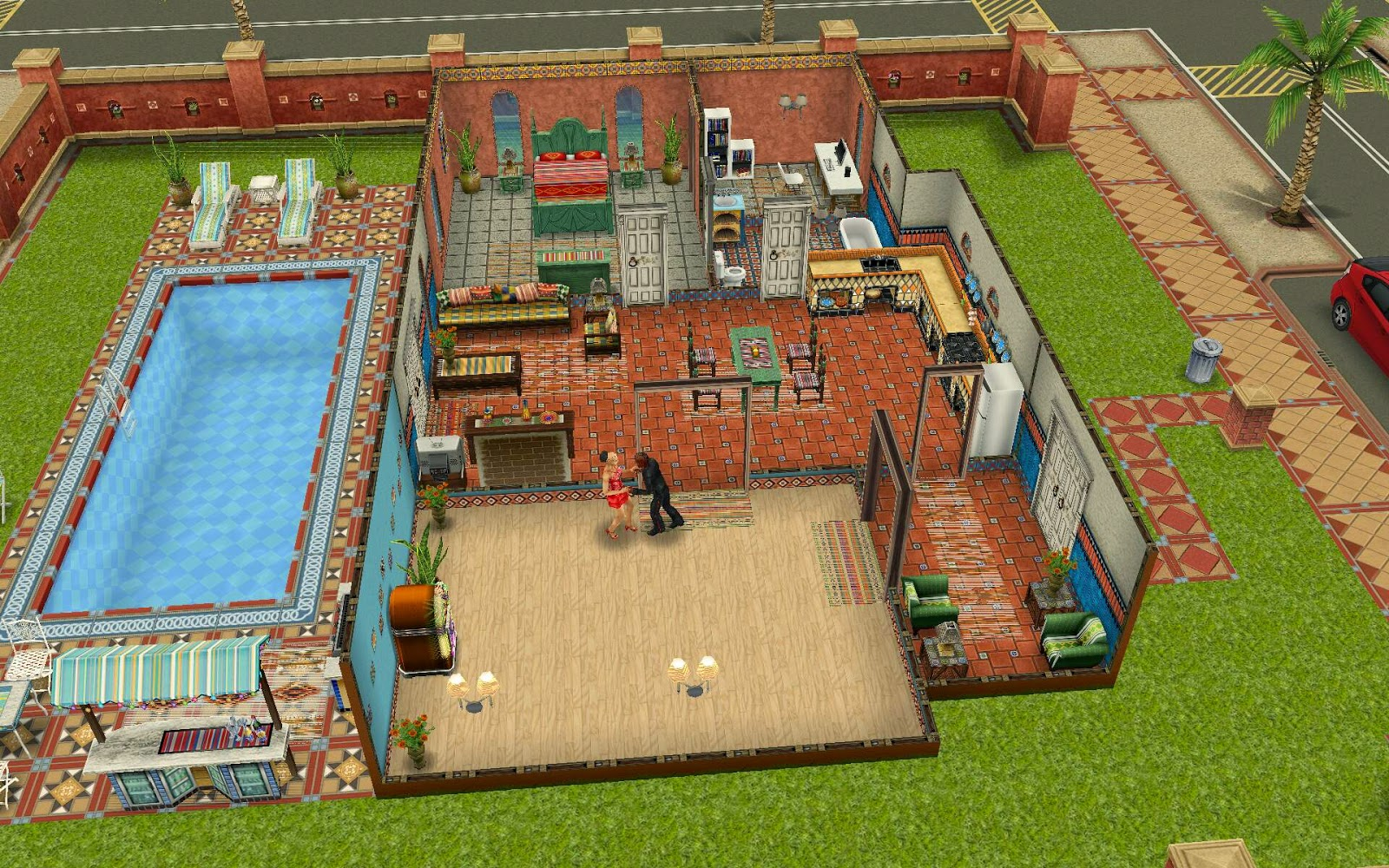 Sims freeplay homes designs - Home design