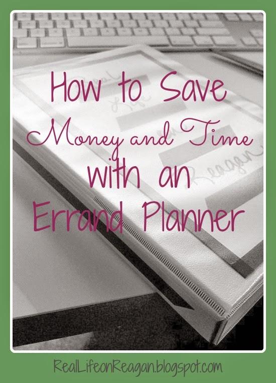 Errand Planner | RealLifeonReagan.blogspot.com