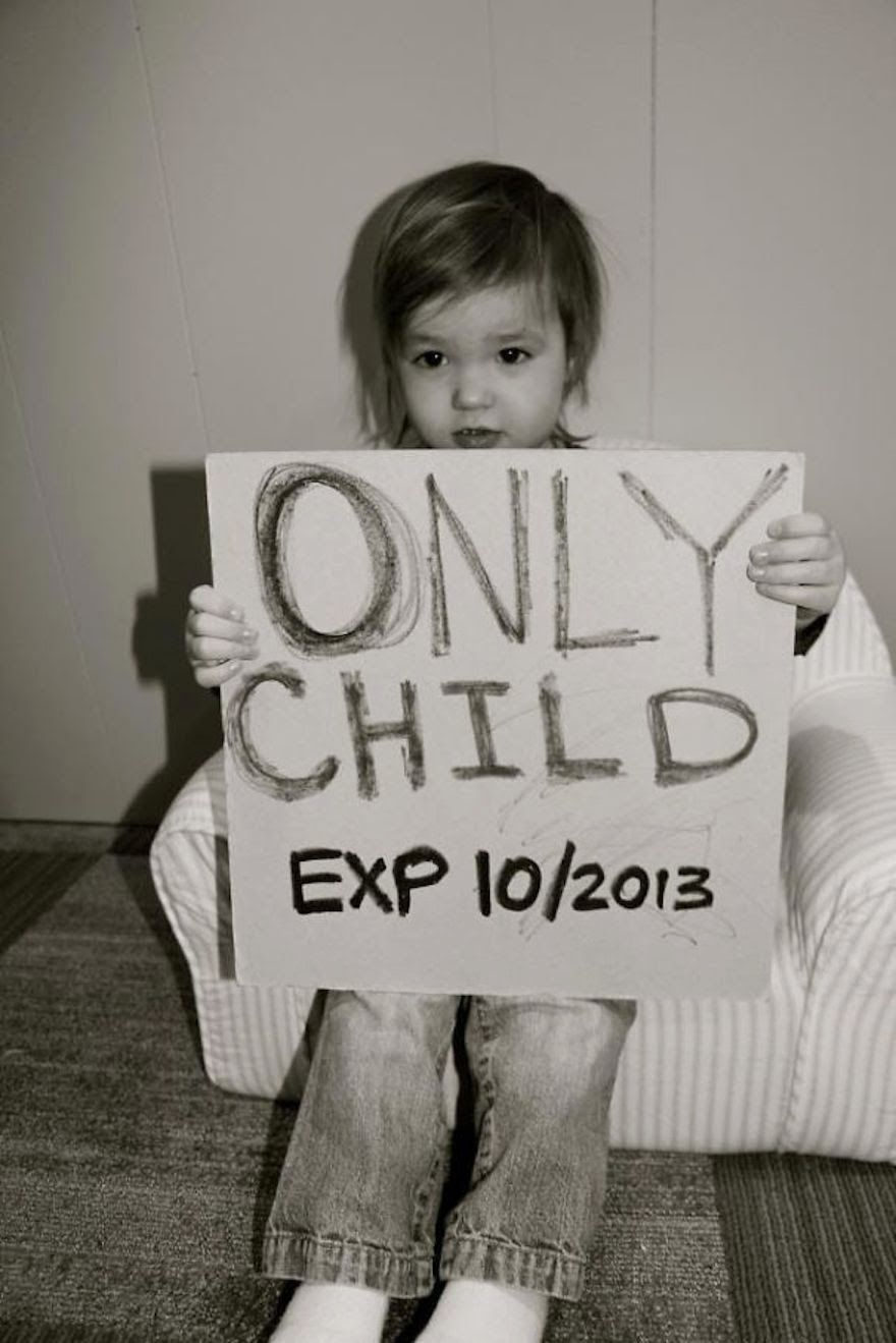 30 Of The Most Creative Baby Announcements Ever - In Proof Every Luxury Has Its Expiration Date