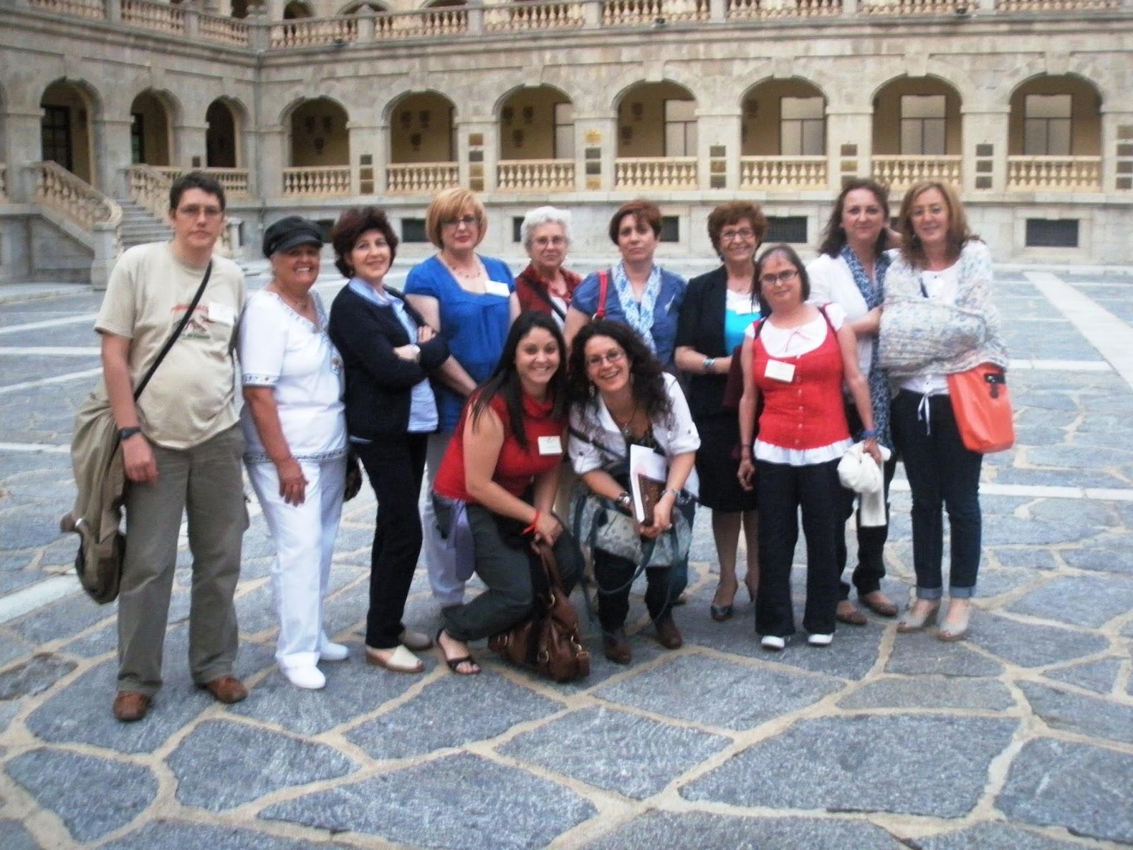 Con MATILDE ASENSI, Toledo, 9 de JUNIO DE 2011