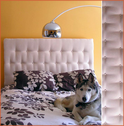 Familiar Interiors: Do it yourself headboards: