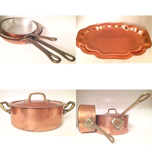 #thriftscorethursday Week 96 | Instagram user: jenc184 shows off this Copper Cookware Collage