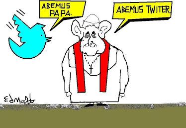 ''HABEMUS PAPA,HABEMUS TWITER''