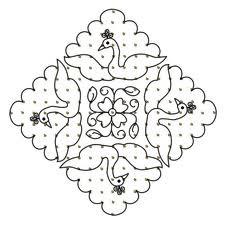 Diwali rangoli patterns and designs - theholidayspot.com