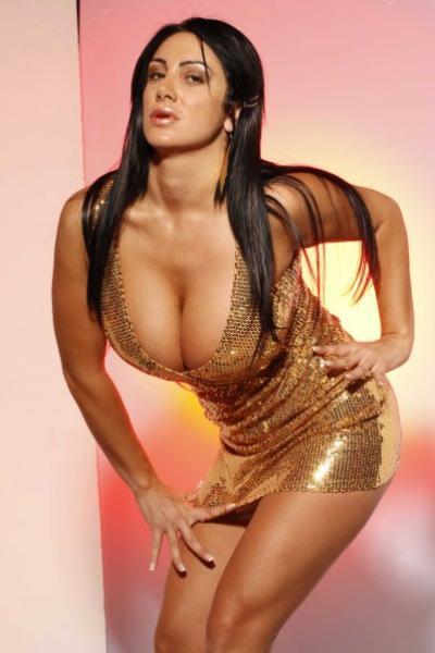 Marika Fruscio Italian TV Napoli -