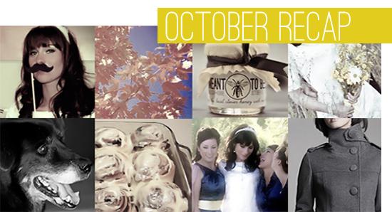 Bubby and Bean: October 2011 Recap