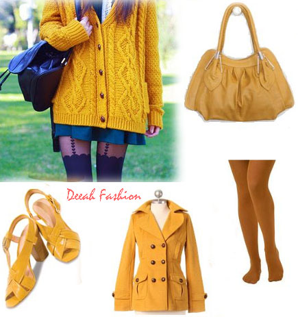 Mustard Colour Warna Unik Item Fashion