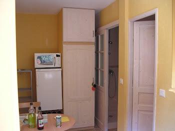 Salle de bain/ coin cuisine