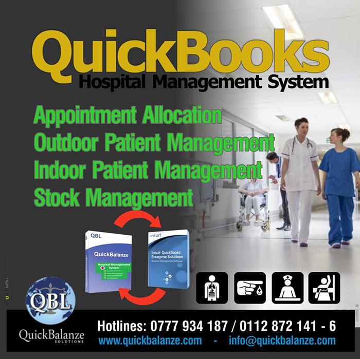 QuickBooks Hospital Management system.