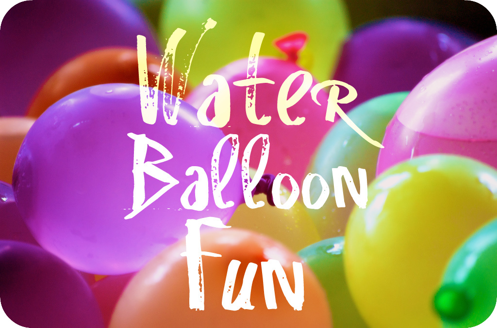 Counting on me water balloon fun for Fun things to do with water balloons