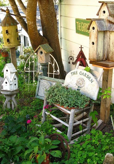My never ending daydream decorating with bird houses - Decorating with bird houses ...
