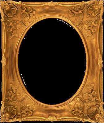 black and gold frame png. Black And Gold Frame Png Vintage Oval Do Blogue