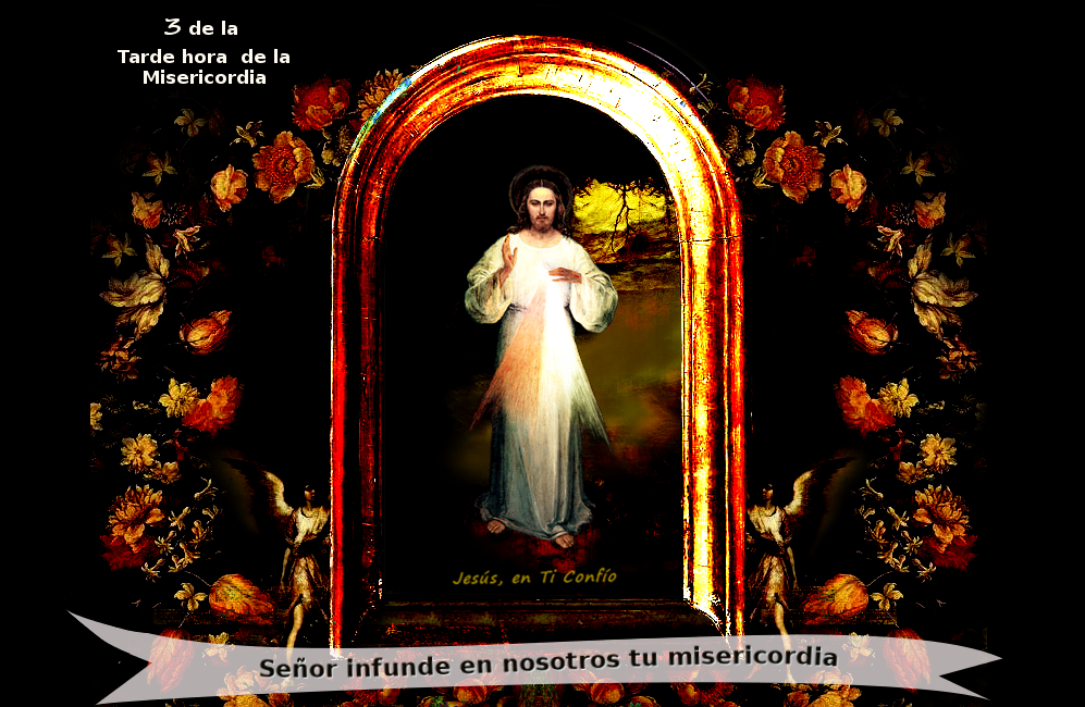 Dios mio infunde tu misericordia en nosotros