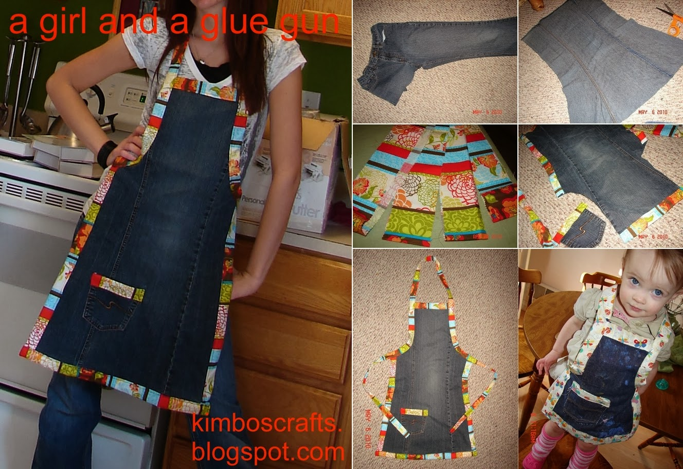 Turn Old Jeans into Amazing Apron