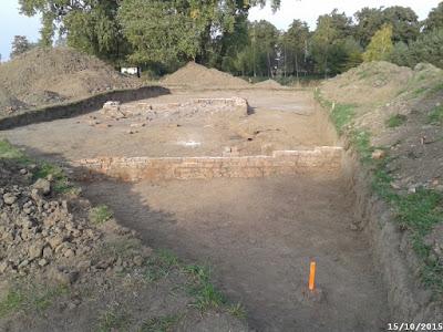 Droga P-16 - stanowisko archeologiczne