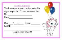 Calend  Rio 2012 E Convites Gatinha Marie