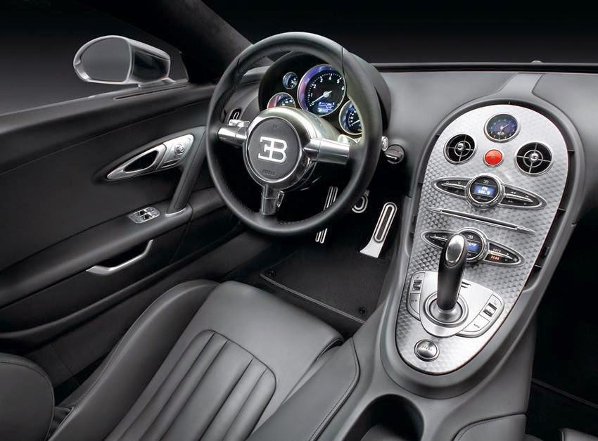 Bugatti Super Veyron Interior Image