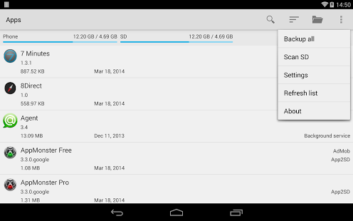 AppMonster Pro Backup Restore Android APK