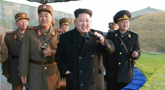 Estados Unidos con armas por Corea del Norte