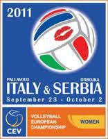 VOLEIBOL-Europeo femenino Serbia-Italia (22-9-2011/2-10-2011)