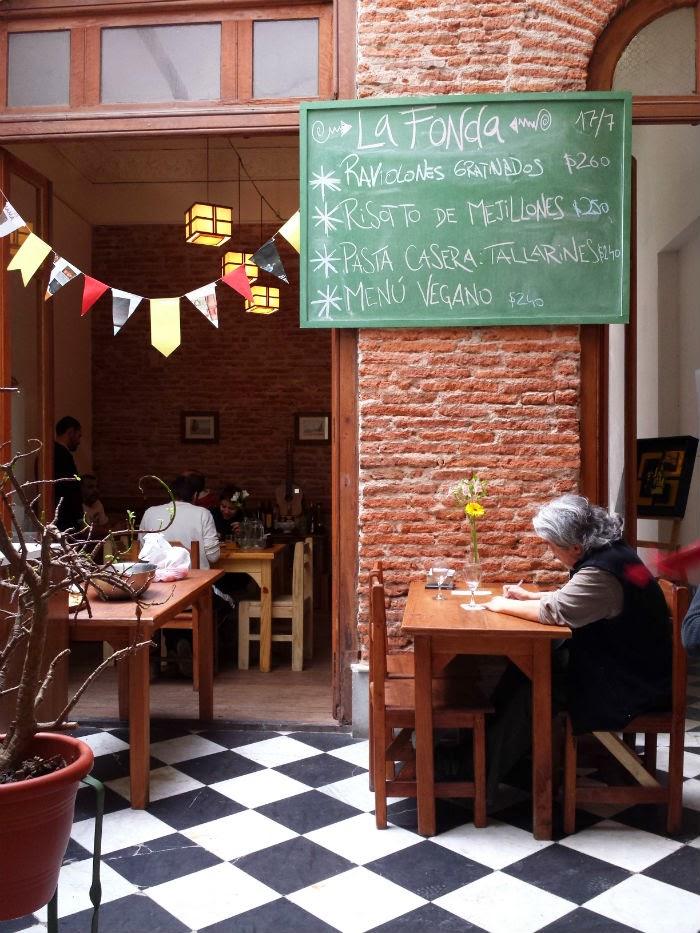 Comida vegana em Montevideu