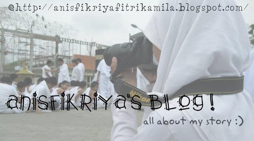 anisfikriya's blog !