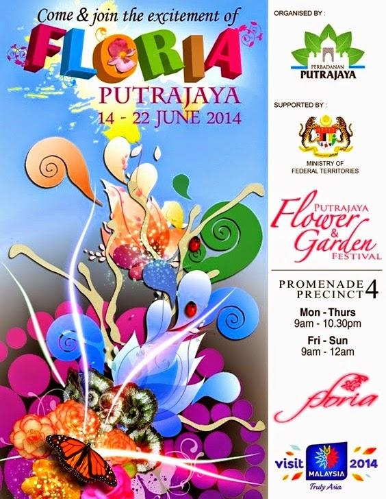 Floria Putrajaya 2014 - Festival Bunga Dan Magic Of The Night