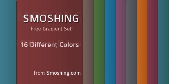 Free Gradient Set: Smoshing