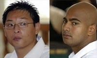Two Australians on death penalty taken to Indonesian Island for execution