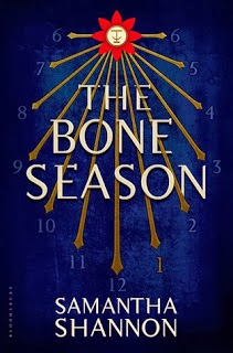 The Bone Season Samantha Shannon book cover