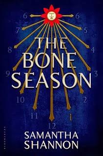 The Bone Season Samantha Shannon book cover
