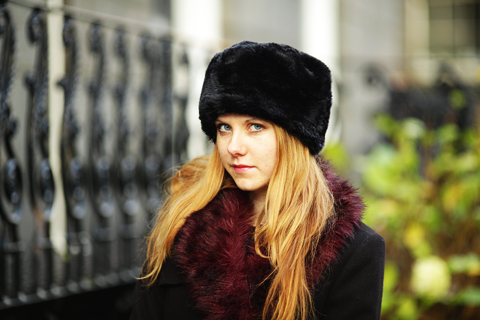 lucie srbova, style without limits, fashion management, robert gordon university, fur hat