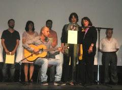 actuación de Lali, Pili y Alfredo