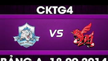 CK Thế Giới 2014 – Bảng A, DP vs AHQ