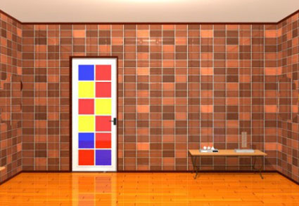 Escape from the Room with a Colorful Door