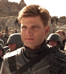 Casper Van Dien, male actors, hunks, good looking male actor, heart throb, Rico from Starship troopers