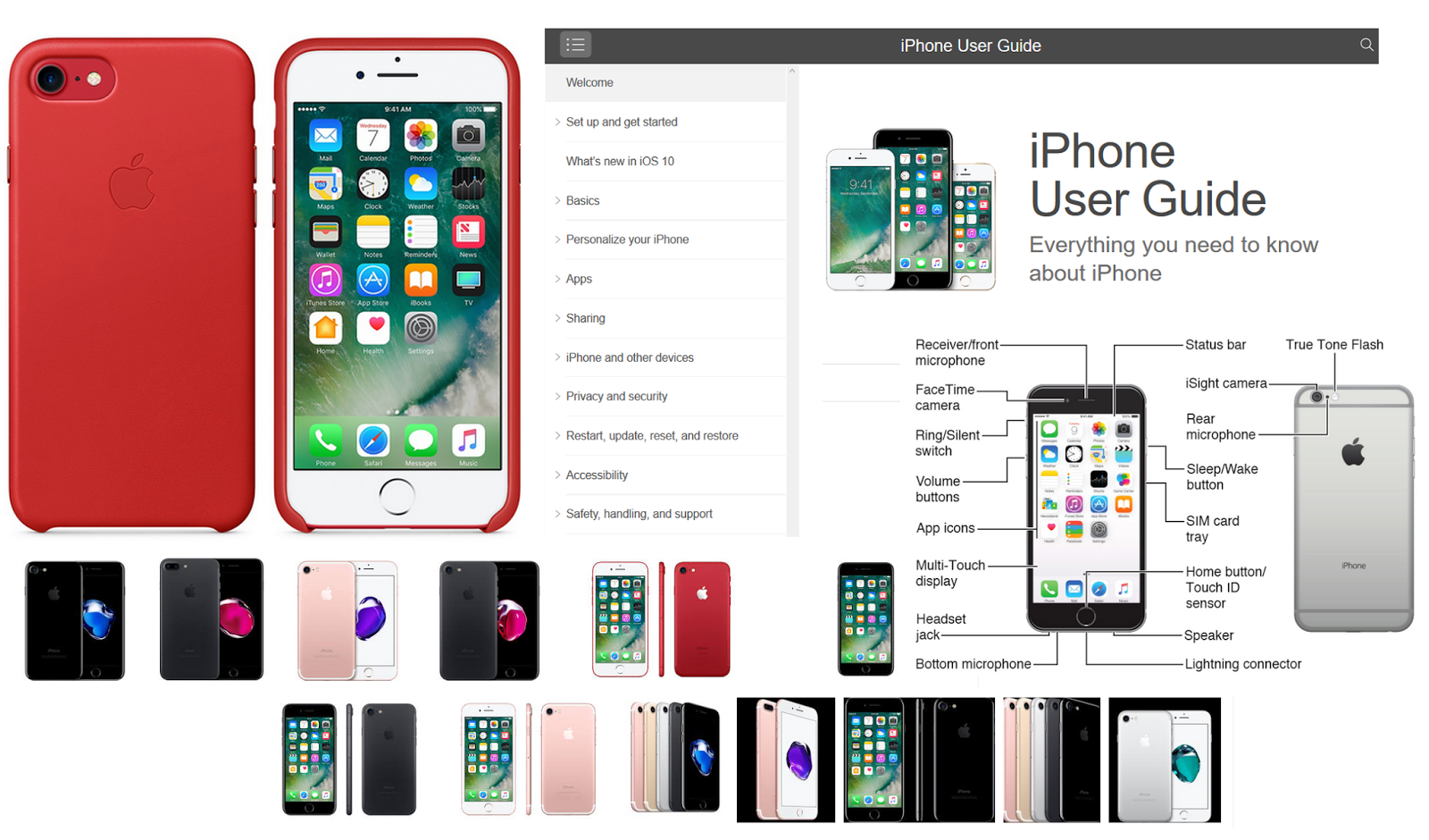 iPhone 7 Manual PDF With Tutorial And iPhone 7 Plus User Guide