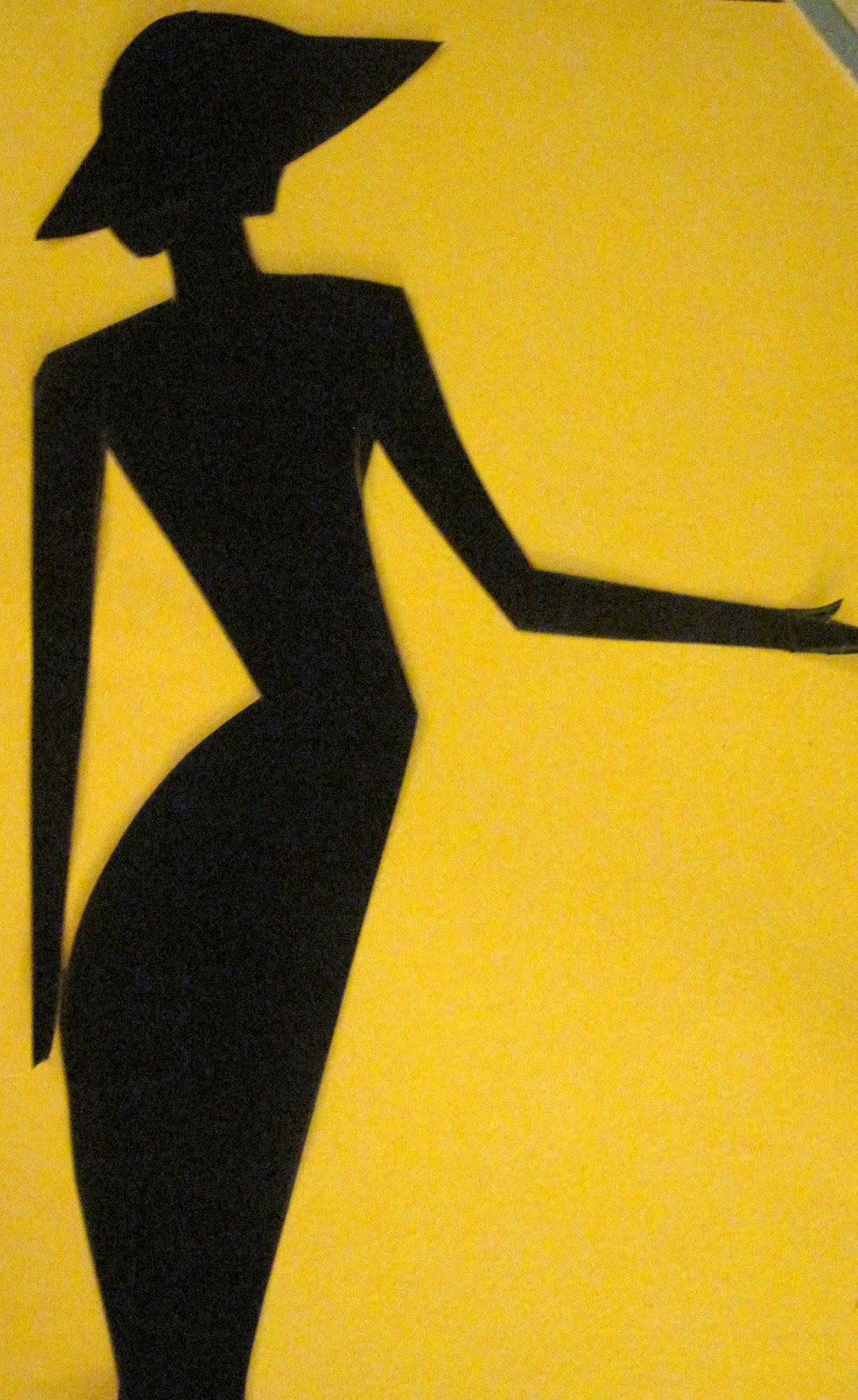 100 Paper Cuts: Day 70-Lady with a hat silhouette